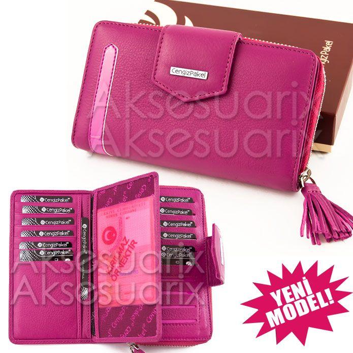 CENGİZ PAKEL marka cüzdanlar profesyonel el işçiliği olan, %100 deri ve estetiğe önem veren bir markadır. Doğanın sunduğu cömertliğe yakışır hale getirilerek ürünlerini beğeninize sunar.. Ayrıca Cengiz Pakel bayan cüzdanları şık tasarımıyla moda çizgisini yansıtır ve bol renk seçeneği bulunmaktadır. Çok kullanışlı ve trend tasarım cüzdan modelleri kendiniz ve sevdikleriniz için.. Sürekli yenilik için de olan Cengiz Pakel markası yılın moda ürünleriyle.. aksesuarix.com 'da