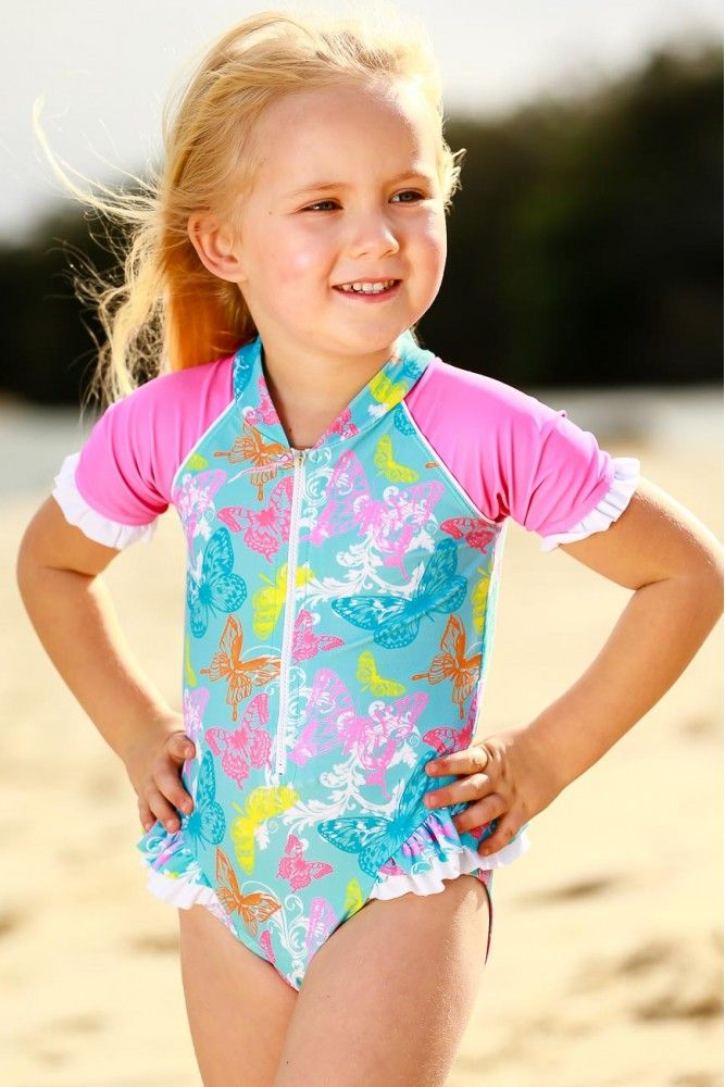 Girls Frill Suit S/S