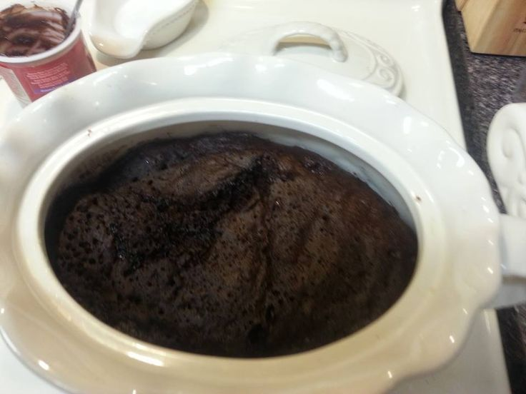 BEAN POT CHOCOLATE LAVA CAKE and other Bean Pot Recipes on Website!