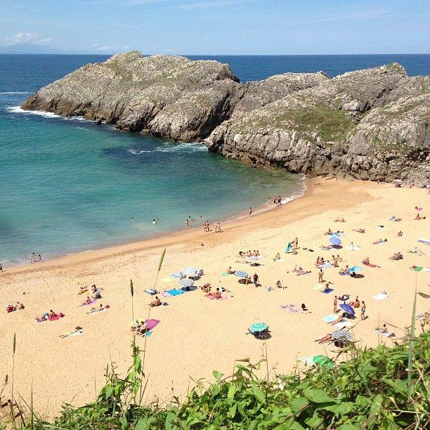 Playa de Somocuevas in Piélagos, Cantabria