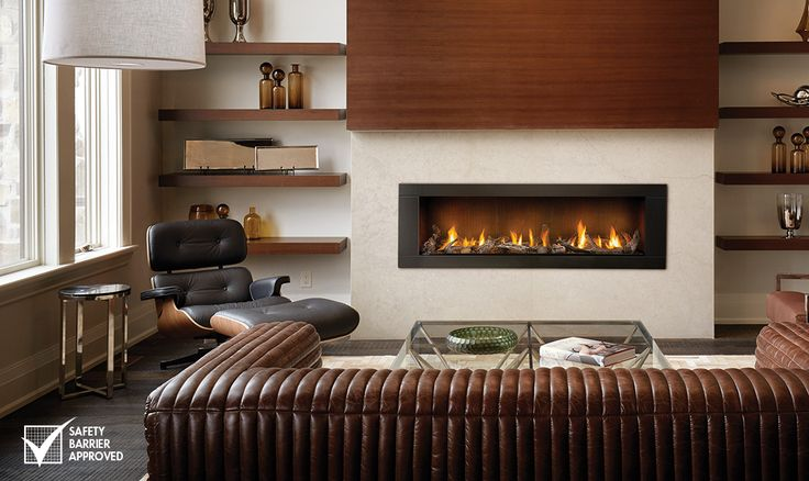 The Napoleon Vector 62 Gas Fireplace can be installed in both residential or commercial applications. The Vector 62 is the perfect focal point for any room.
