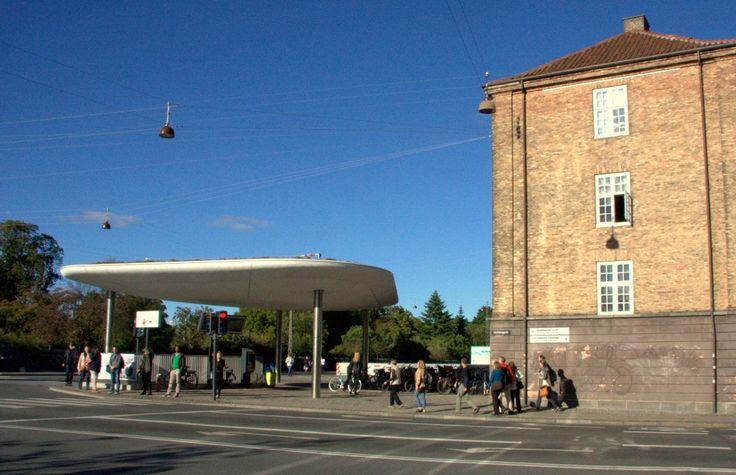 Stasjonens siste utpost ved Livgardens Kaserne på Østre Voldgade. BIldet: Knut Atle Klausen