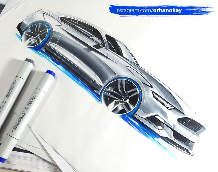 Ford Mustang.  Design by Curic, K. 2014  Sketch Orhan Okay ® 2015  http://instagram.com/orhanokay/  #marker #designsketch #sketchzone #copic #art #illustration #drawing #draw #picture #artist #sketch #sketchbook #paper #pen #pencil #artsy #instaart #beautiful #instagood #gallery #masterpiece #creative #photooftheday #instaartist #graphic #graphics #artoftheday #idsketch #mustang