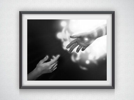 Psalm 18:16  Biblical Hands by AustinGFarmer on Etsy