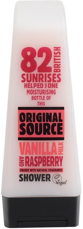 Original Source Shower Gel 250Ml (Vanilla Milk & Raspberry) Buy Online at Best Price in India: BigChemist.com