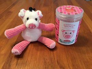 Penny the Pig is one of Scentsy's Buddy Clips! She can be clipped anywhere you need a little friend and the smell of Scentsy's Crazy Coconut! Name: Penny Species: Pig Favorite hangout: On the farm Favorite activities: Rooting in the soil, sleeping and cuddling! Favorite book: If You Give a Pig a Pancake Favorite movie: Babe Favorite sports team: The University of Arkansas Razorbacks Food I crave: Everything! I love to pig out! Fun fact: Why does everyone think pigs are messy? I only roll in…