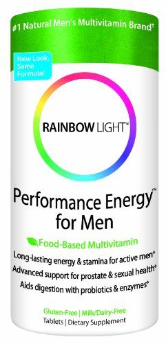 Rainbow Light Performance Energy Multivitamin for Men Multivitamin Supplement Tablets 180 tablets >>> To view further for this item, visit the image link.