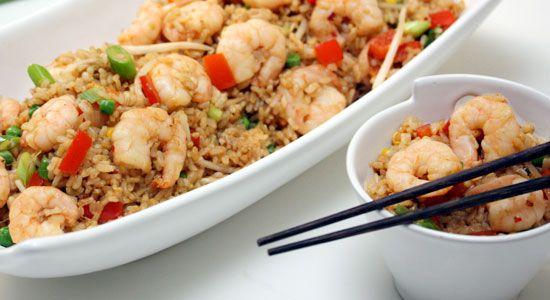 Garlic Prawn Fried Rice - weightloss.com.au