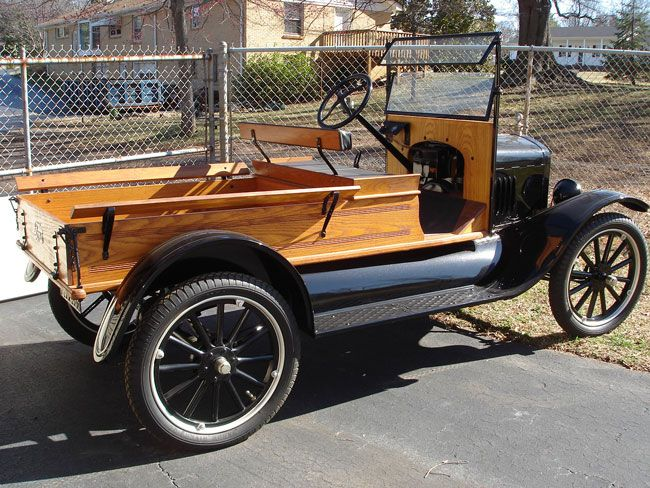 Car of the Week: 1923 Ford Model T express pickup