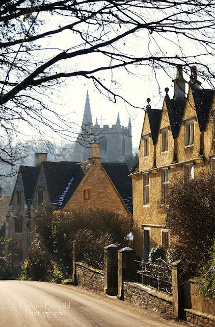 Castle Combe, small village in England. Ranked number 2 in The Times top 30 of prettiest English villages.
