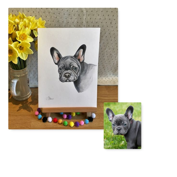 Personalised Pet Portrait by Charly Art Portraits