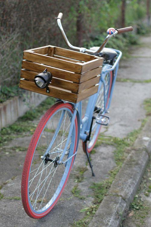Retro style fashion vintage bicycle