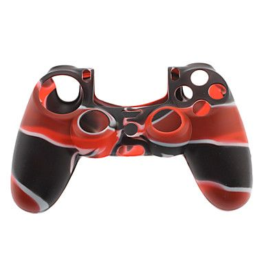 Housse silicone camouflage pour manette PS4