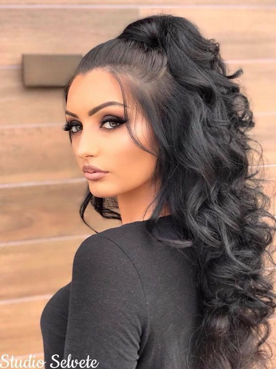 High Ponytail Hairstyles - Page 8 of 17 - Inspired Beauty
