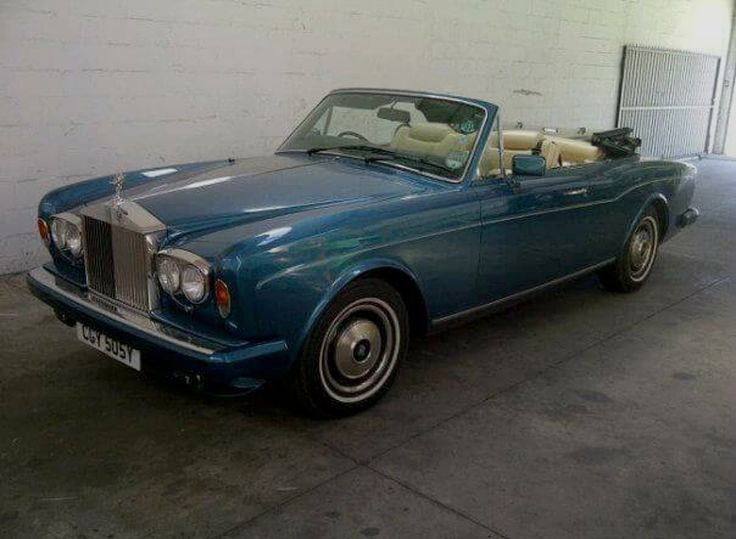 The car that started it all for me 1986 @rollsroycecars Corniche DHC #MyOctane Reality Motoring Show myoctane.tv
