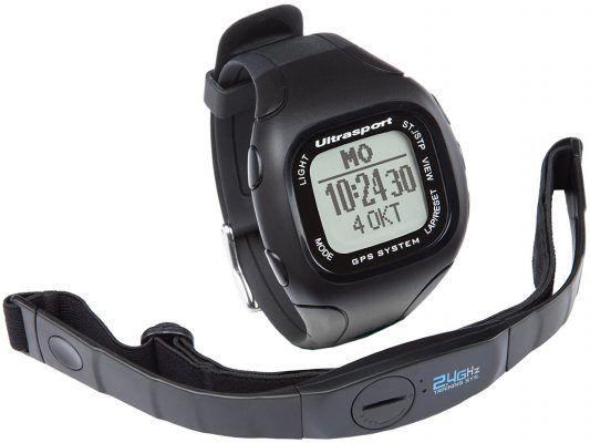 Ultrasport NavRun 500 pulsómetro GPS con correa para el pecho por 55,21 €  Ideal para #deportistas aficionados, para correr, ir en #bicicleta, caminar, hacer #senderismo, esquiar... El compañero de #entrenamiento perfecto, con receptor #GPS, le muestra la distancia y la velocidad actuales.   #chollos #deportes #salud