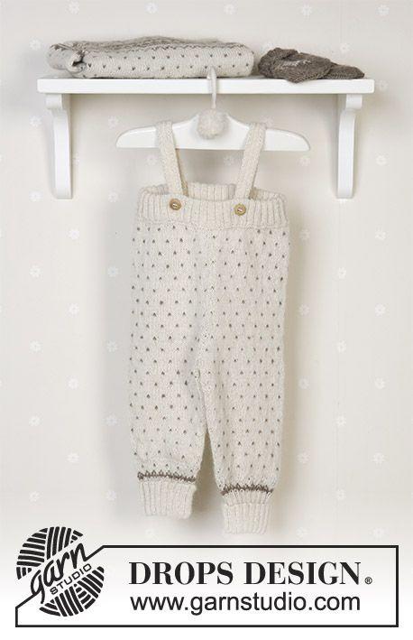 DROPS Nordisk kofta, byxa, mössa med garnbollar, vantar, sockor och filt i Alpaca.