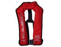Gilet gonflable automatique avec harnais 150 N - ROUGE - Gilet de sauvetage Orangemarine