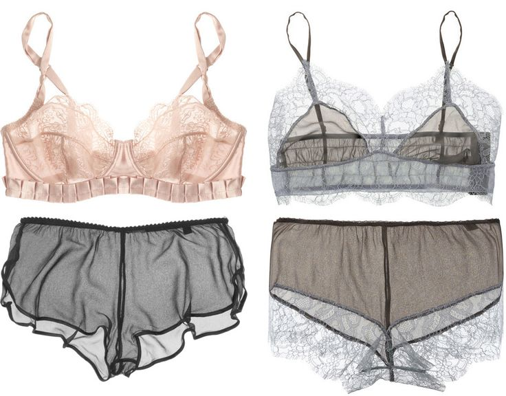 Stella McCartney lingerie. So goddamn beautiful.