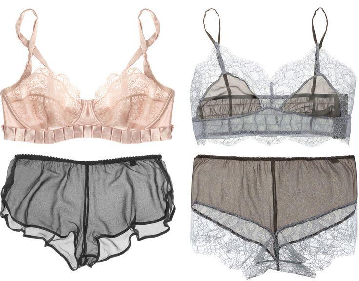 Stella McCartney lingerie. So goddamn beautiful.