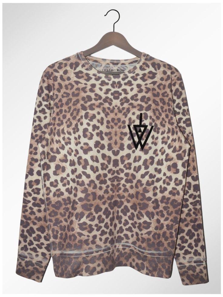 Leopard Sweat Last But Won Funky Pinterest Produits Et Technologie Imprim Et Unisexe