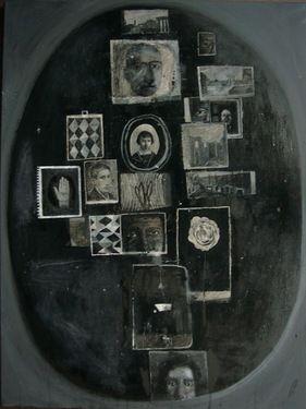 """Saatchi Art Artist Espen Erichsen; Painting, """"Collection III (Marquee Moon)"""" #art"""