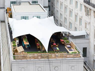 London roof top bars