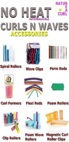 Crear rizos y ondas sin calor es posible #Naturealcurl Heat free curls .... Rollers .......... Waves