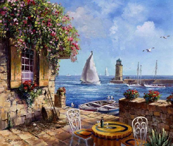 Paintings by Reint Withaar