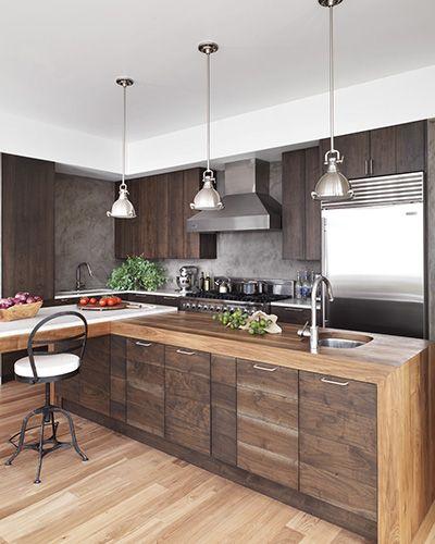 fascinating modern walnut kitchen cabinets | Pin on Decor