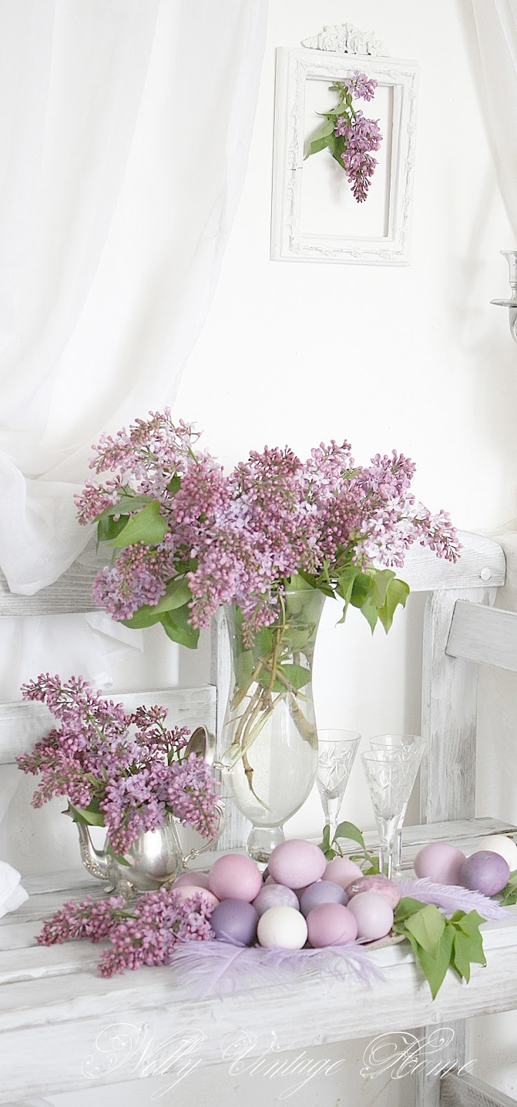 nelly vintage home: Easter Lilac