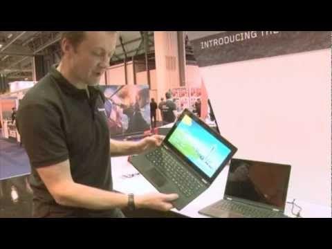Lenovo IdeaPad Yoga demo at Gadget Show Live 2013