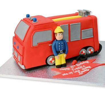 Taartenwinkel.nl - Brandweerauto http://tinyurl.com/poqy4dr