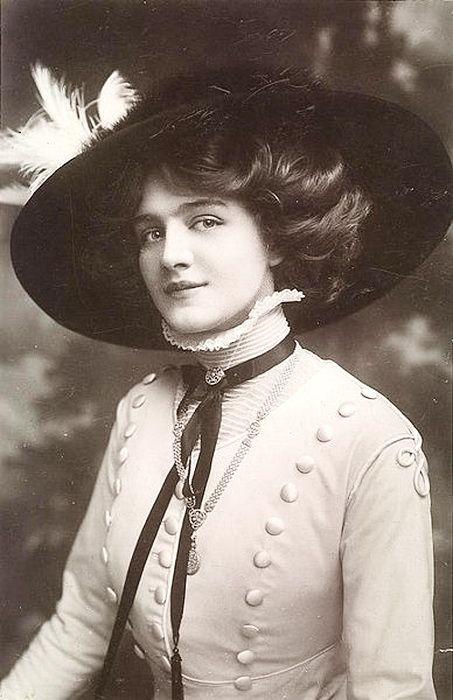 Мобильный LiveInternet Звезда из прошлого - Lily Elsie (1886 - 1962) | rodich2007 - Дневник rodich2007 |