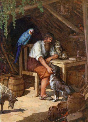 Robinson Crusoe  Howard Davie