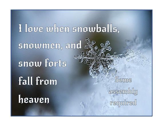 Captivating Snow Printable Snowmen Saying Snowball Quote, Snow From Heaven Snowflake  Some Assembly Required Fun Saying, Holiday Decor, Winter Wall Print