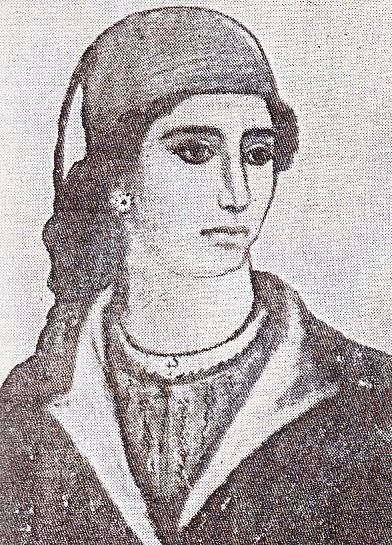 Domna Visvizis (1783-1850) - heroic Greek woman of Thrace who fought against the Ottoman Turks in the War of Greek Independence.