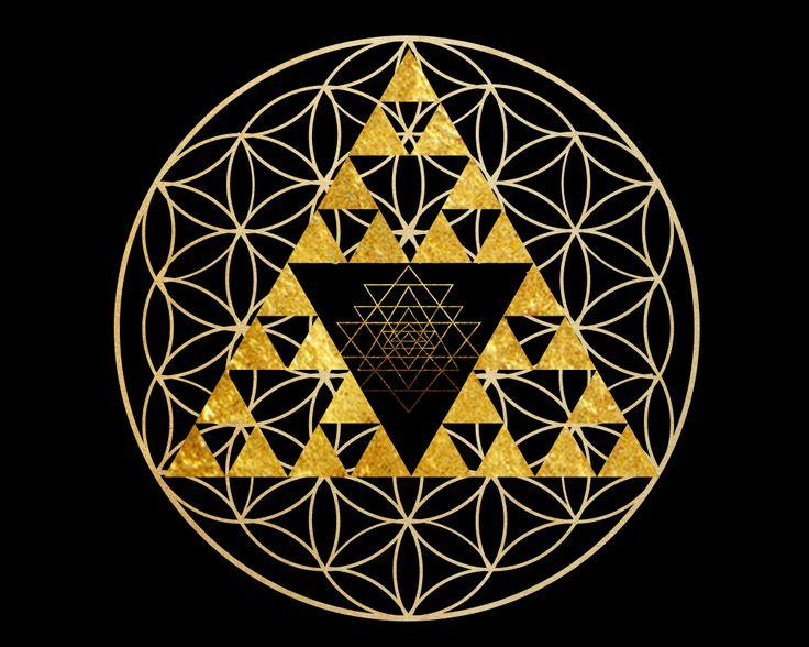Flower Of Life Pyramid