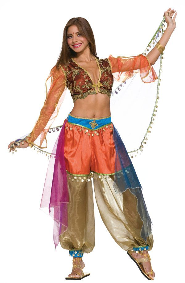 Adult belly dancer costumes