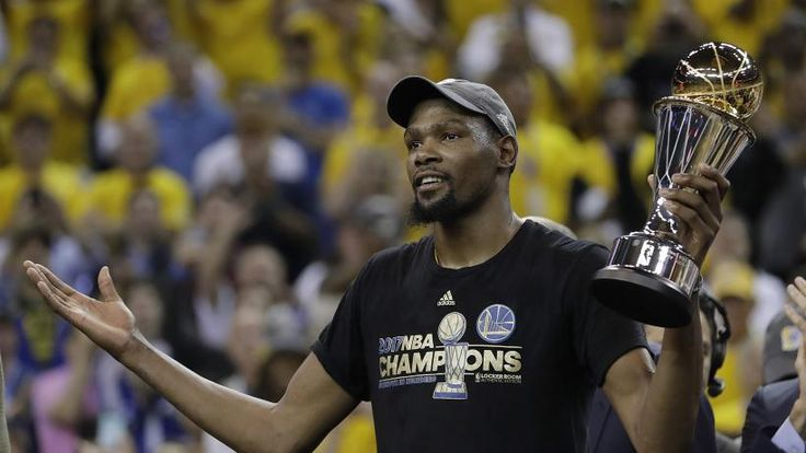 Kevin Durant declined to opt in for the second year of his contract with Golden State and will become an unrestricted free agent, an expected move for the NBA Finals MVP who said he plans to do his part to keep the core of the champion Warriors intact