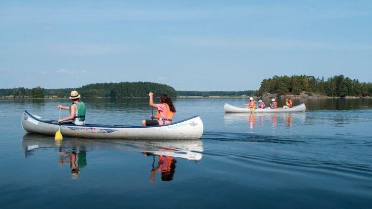 Kanufahren Familienurlaub Schweden Värmland