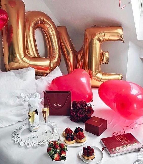 The 25+ best Romantic surprise ideas on Pinterest Indoor date - romantic bedroom ideas for him