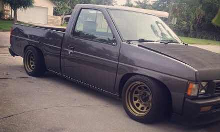 What!? A truck?! Heeeeeck yea!  Nissan D21