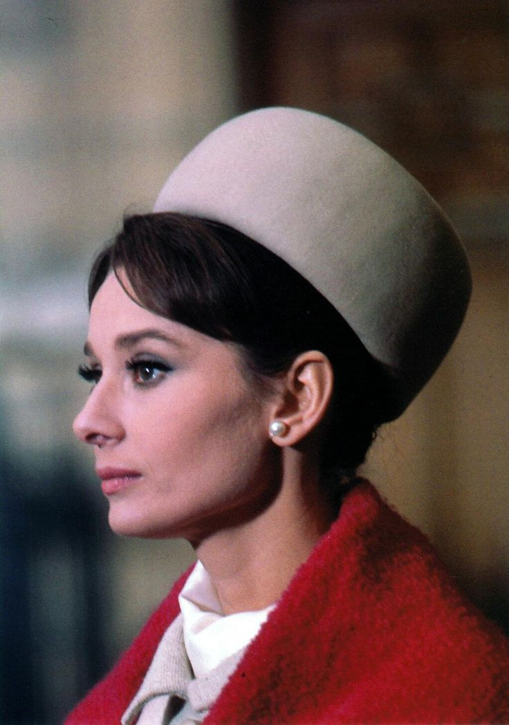 Audrey Hepburn in Charade, 1963.