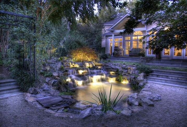 Beautiful Backyard Ponds
