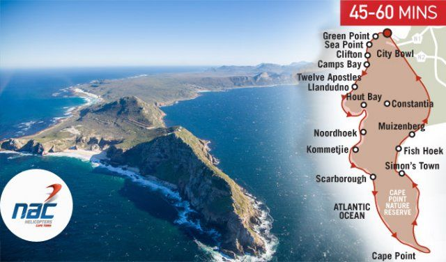 NAC Cape Point Helicopter Tour | Heli Rides, Sightseeing Tours, Flights &…