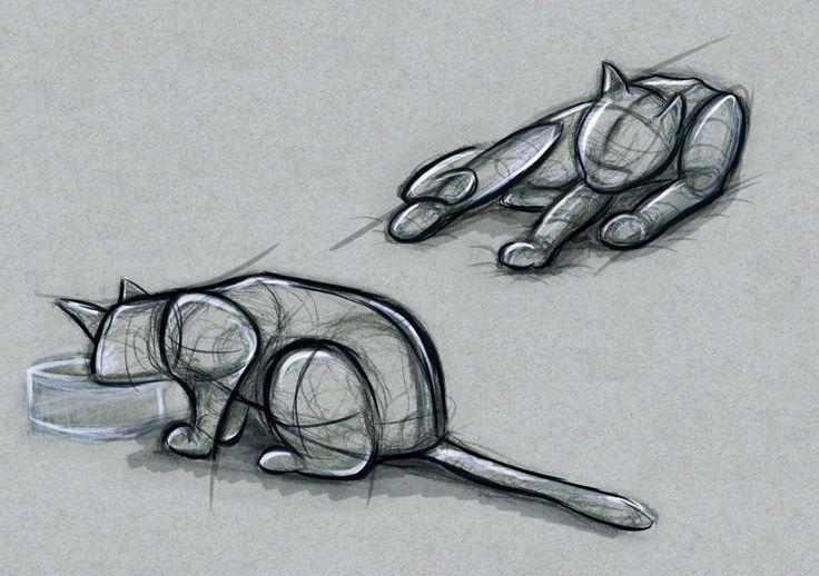 Life drawings - Nina