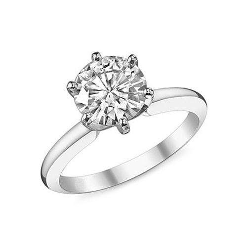 Diamantring Solitär 1.00 Karat aus 585er Weißgold (SI1/D) bei www.juwelierhausausabt.de für nur 2499.00 Euro bestellen.