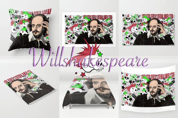 "Art Vector WILLSHAKESPEARE VECTOR New Collaboration Vector Works: TNT's Shakespeare Series ""Will"" on the mythical William Shakespeare https://society6.com/angelolarocca/willshakespeare-vector-faj  #art #vector #will #WILLSHAKESPEARE #tnt #tv #movies #art #punkrock #series #william #shakespeare"