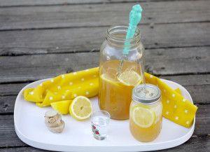 Conscious Cleanse   Lemon Ginger Switchel   http://consciouscleanse.com #consciouscocktail #8020lifestyle #treatyoself